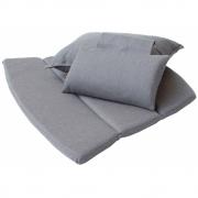 Cane-line - Breeze Kissensatz für Highback Sessel Grau