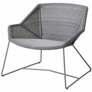 Cane-line - Breeze Lounge Chair Light grey