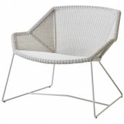 Chaise longue Breeze - Cane-line Blanc gris
