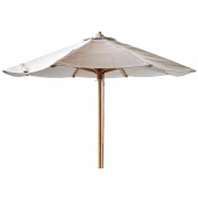 Cane-line - Classic Parasol for Peacock Daybed Light grey