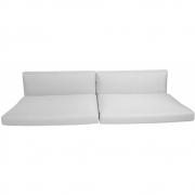 Cane-line - Kissensatz für Connect 3-sitzer Sofa