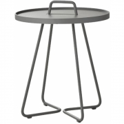 Cane-line - On-the-move side table, small Light grey