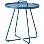 Cane-line - On-the-move Beistelltisch, klein Staubiges Blau