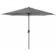 Cane-line - Shade parasol with crank Antracite