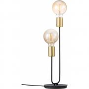 Nordlux - Josefine Table lamp black, brass