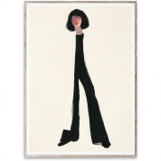 Affiche de conception Black Pants - Paper Collective 30 x 40 cm
