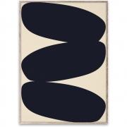 Affiche de conception Solid Shapes 01 - Paper Collective 50 x 70 cm