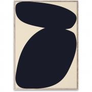 Affiche de conception Solid Shapes 03 - Paper Collective 50 x 70 cm