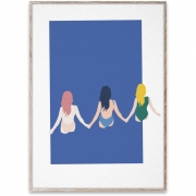 Paper Collective - Girls Design Poster