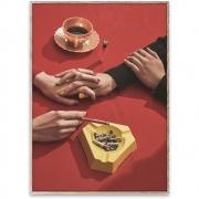 Affiche de conception First Date - Paper Collective 50 x 70 cm