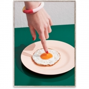 Affiche de conception Fried Egg - Paper Collective 50 x 70 cm