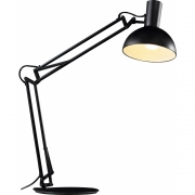 DFTP - Arki Table, clamp and wall lamp black