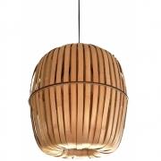 Ay Illuminate - Kiwi Bamboo Pendelleuchte