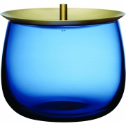 Boîte de stockage S Beret - Nude Bleu cobalt