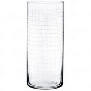 Nude - Finesse Grid Long Drink Glas (4er Set)