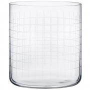 Nude - Finesse Grid Whiskyglas (4er Set)