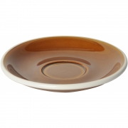 Loveramics - Egg 14.5 cm Universelle Untertasse 6 Stück Karamell