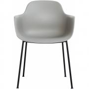Andersen Furniture - AC3 Stuhl Grau RAL 7030 (Gestell: Metall Schwarz)