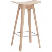 Andersen Furniture - HC1 Barhocker Furniersitz Hell (Gestell: Eiche)