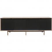 Andersen Furniture - S1 Sideboard Diamond Black - Eiche Geseift