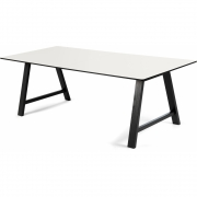 Andersen Furniture - T1 Table extendable, Oak black lacquered