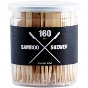 Brochettes Bambou set de 160, 9 cm - Nicolas Vahé