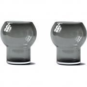 RO Collection - Glass No. 48 Glas Smoked Grey 2er Set