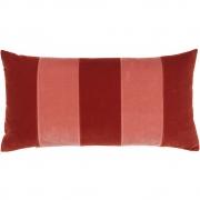 Christina Lundsteen - Stripe Kissen 40x80 cm, Eark red / Blush