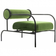 Cappellini - Sofa with Arms Black Edition Sessel