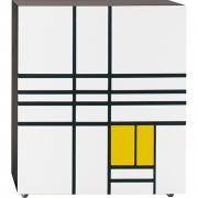 Cappellini - Homage to Mondrian Cabinet 2