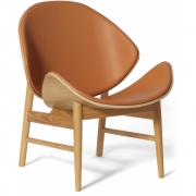 Warm Nordic - The Orange Loungesessel Komplett gepolstert