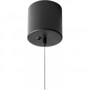 Couvercle de câble noir avec câble - Nuura
