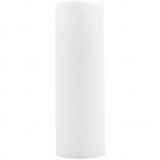 House Doctor - Kerze, LED, Weiß, H 23 cm
