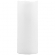 House Doctor - Kerze, LED, Weiß, H 12.5 cm, Ø 5 cm