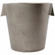 House Doctor - Weinkühler, Buck, Gebürstetes Silber