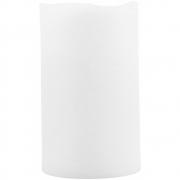 House Doctor - Kerze, LED, Weiß, H 12.5 cm