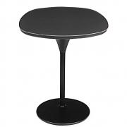 Moroso Bloomy Tisch (Platte: Laminam schwarz, Gestell: schwarz) sale