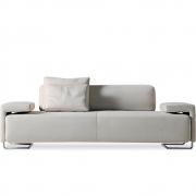 Moroso Lowland 3-Sitzer Sofa (Net 3 Skifer 160 weiß/schwarz) sale