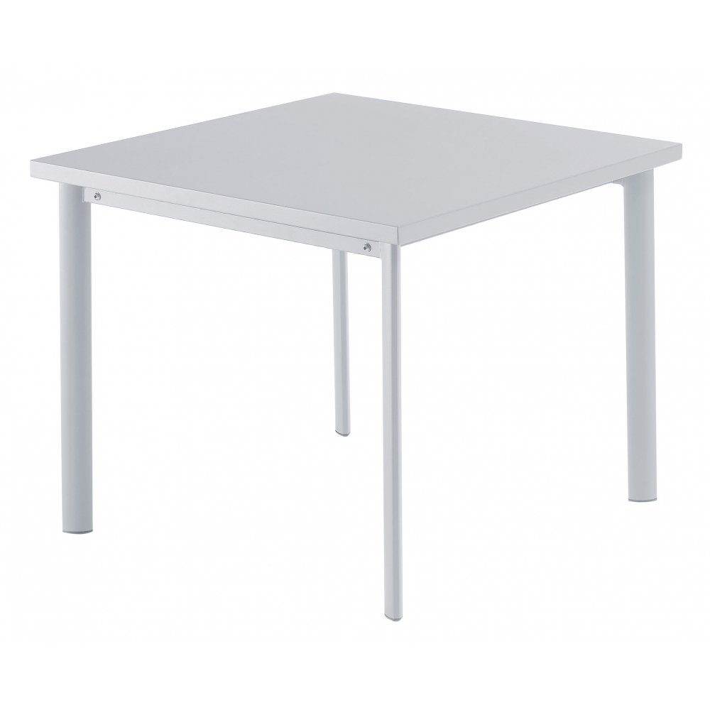 emu star table square 90 x 90 cm aluminum nunido. Black Bedroom Furniture Sets. Home Design Ideas