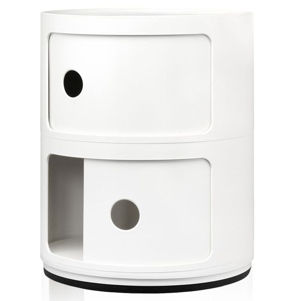 kartell componibili 32 cm 2 cases white nunido. Black Bedroom Furniture Sets. Home Design Ideas