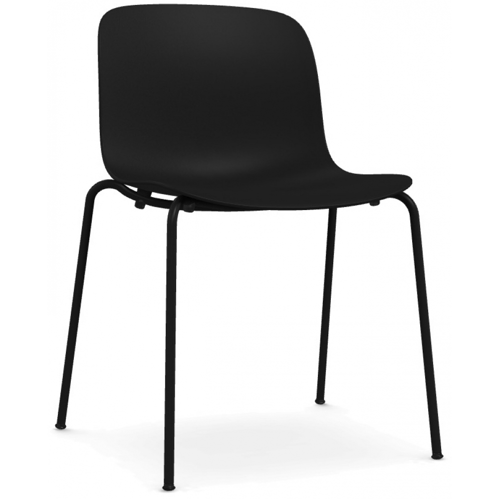 Magis troy outdoor chair black nunido for Magis outdoor
