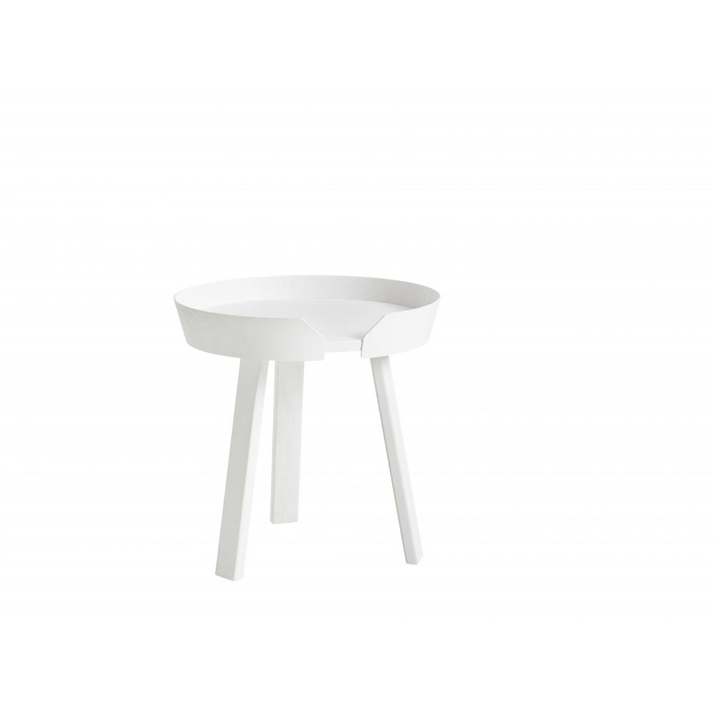 Muuto Around Coffee Table Small White Nunido