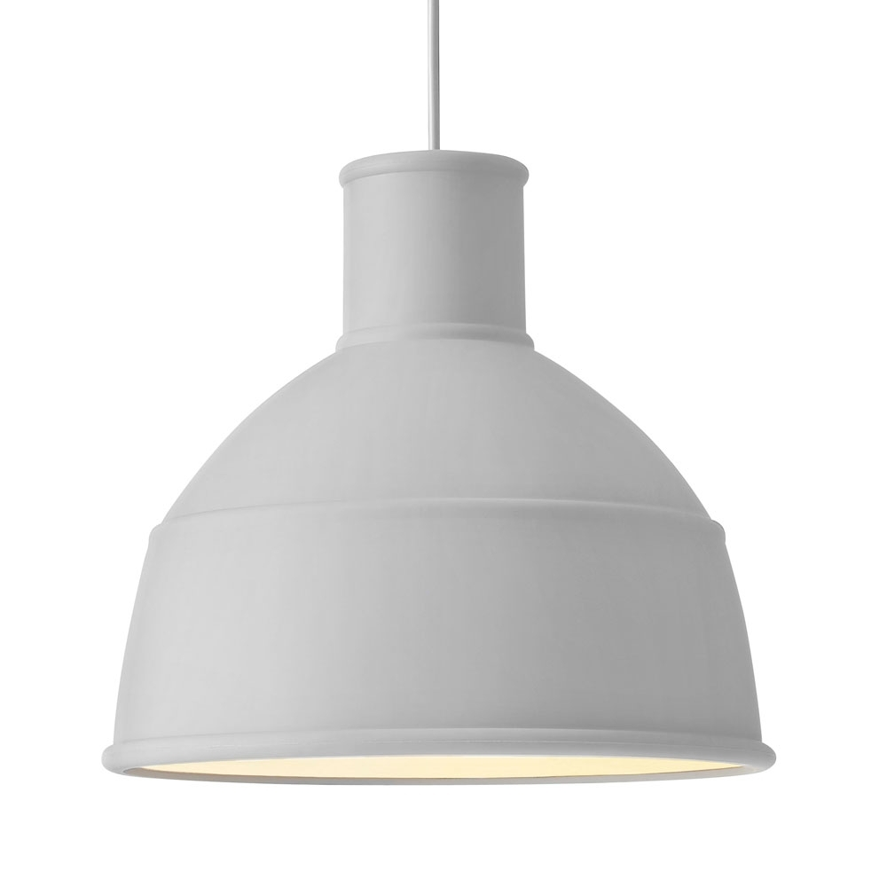 Muuto Unfold Pendant Lamp Light Grey Nunido