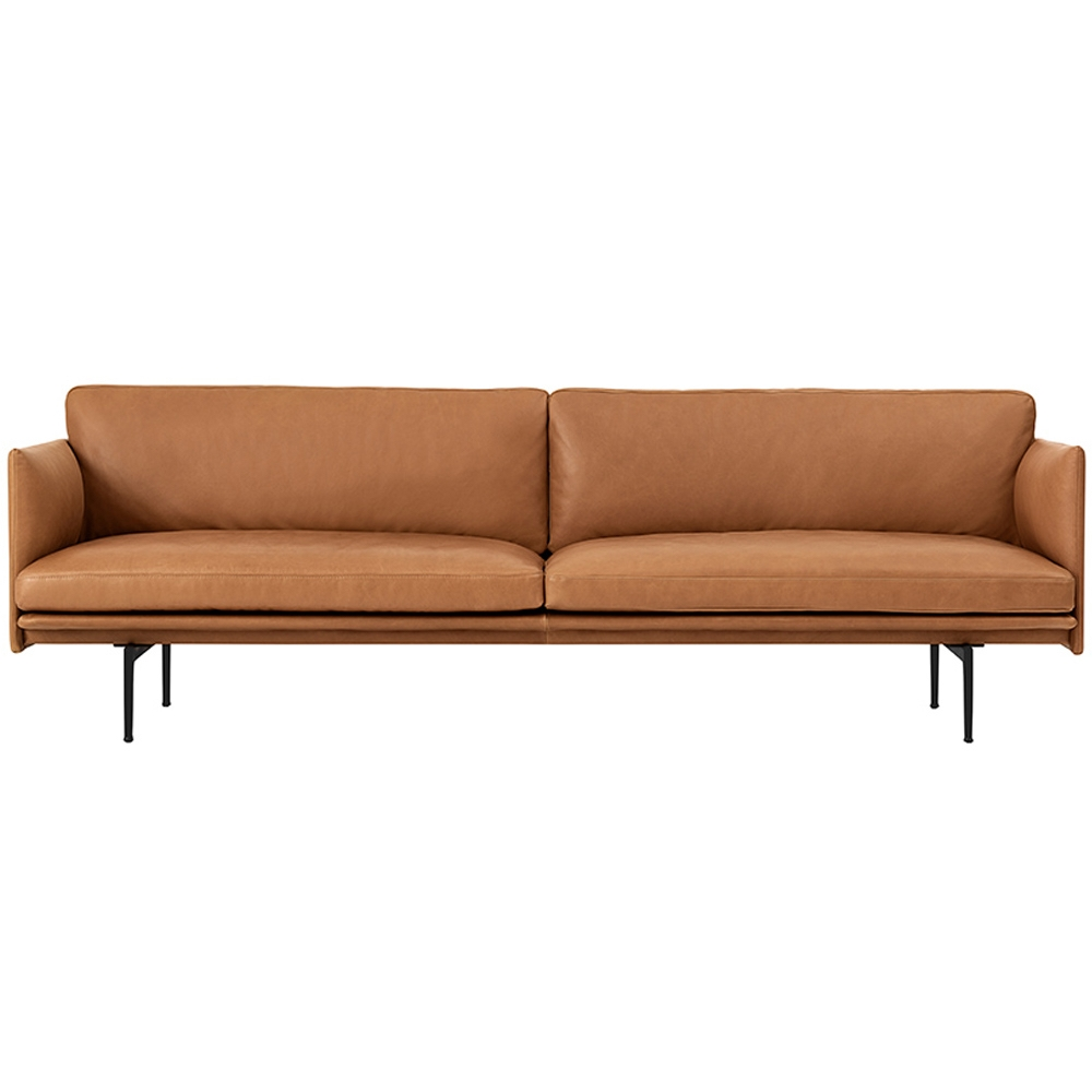 Muuto outline 3 seater sofa nunido for Sofa 6 seater
