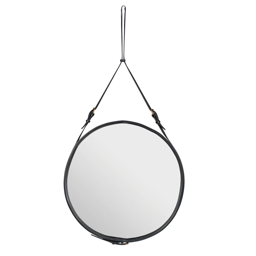 Gubi adnet spiegel rund nunido for Spiegel rund schwarz