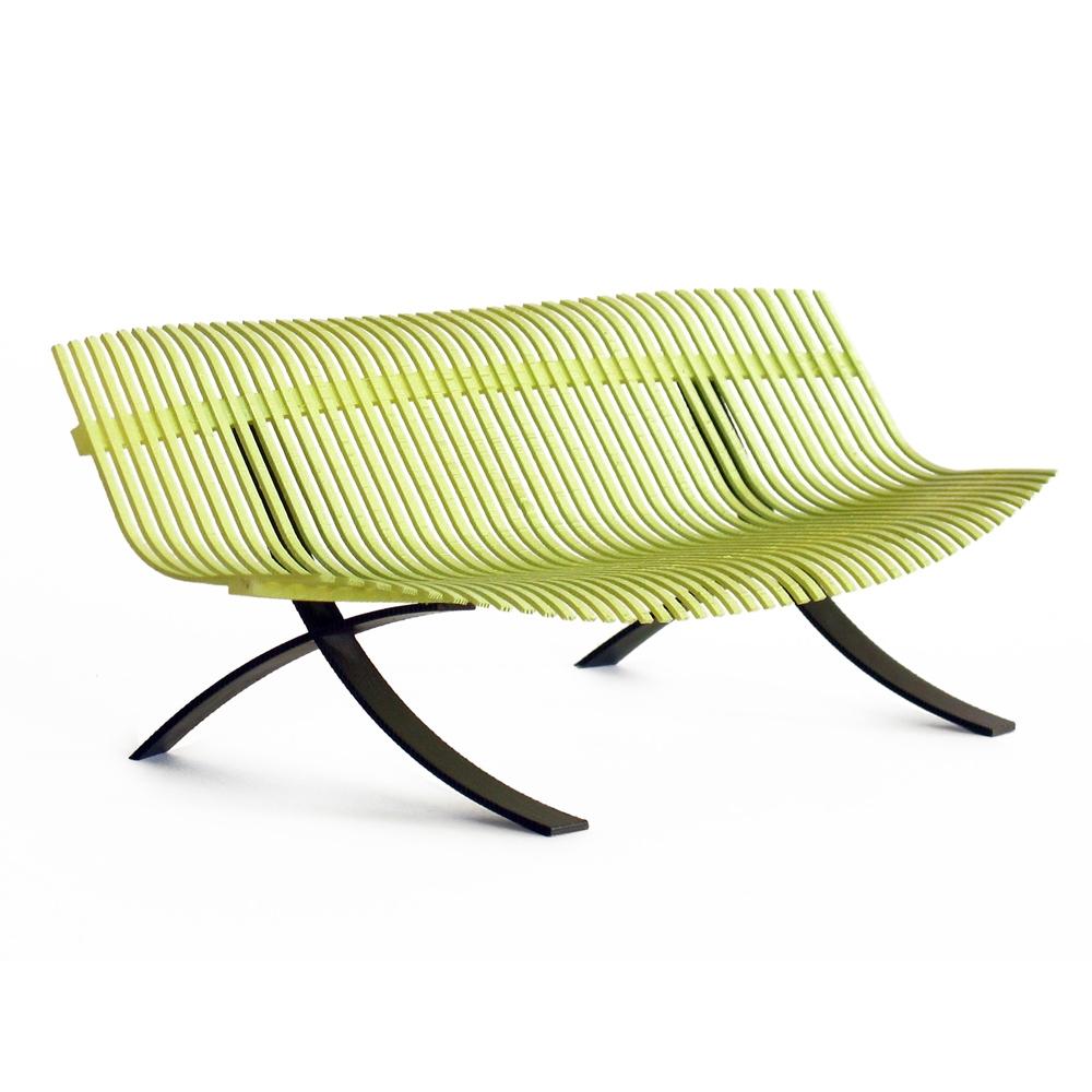 fermob charivari bank nunido. Black Bedroom Furniture Sets. Home Design Ideas