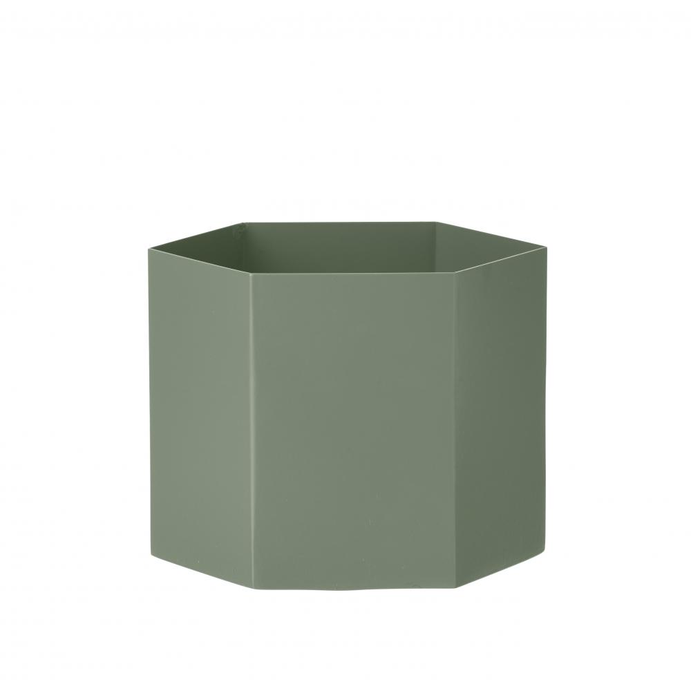 ferm living hexagon blumentopf nunido. Black Bedroom Furniture Sets. Home Design Ideas