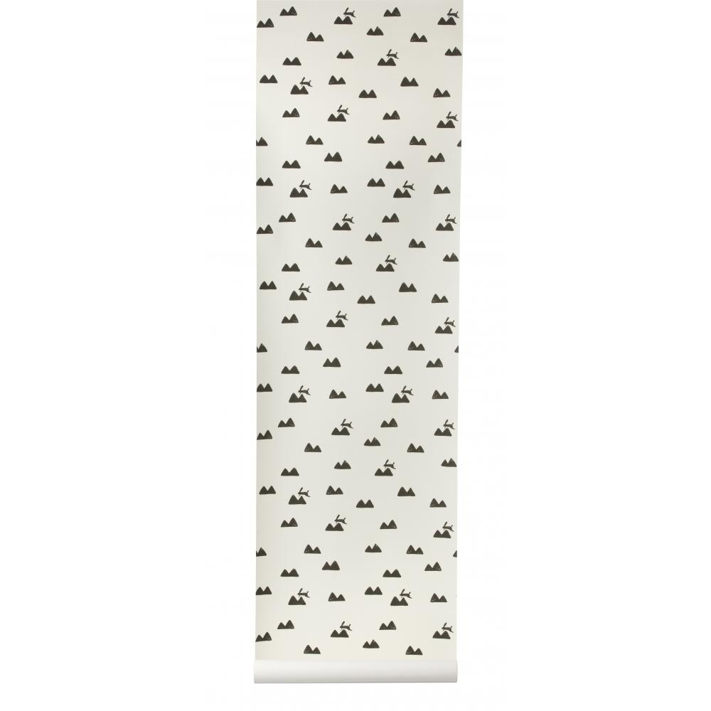 ferm living rabbit tapete nunido. Black Bedroom Furniture Sets. Home Design Ideas