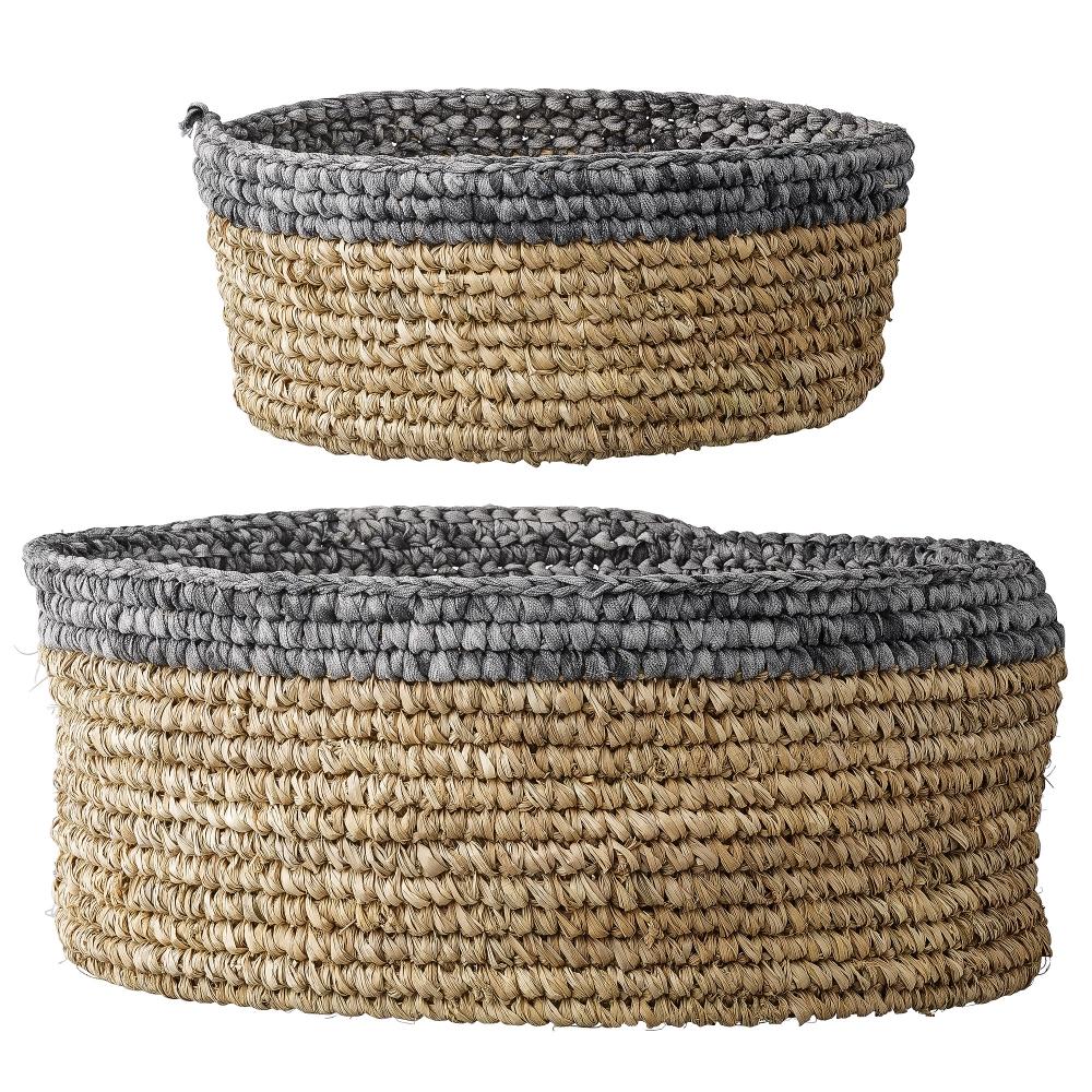 bloomingville basket set korb nunido. Black Bedroom Furniture Sets. Home Design Ideas