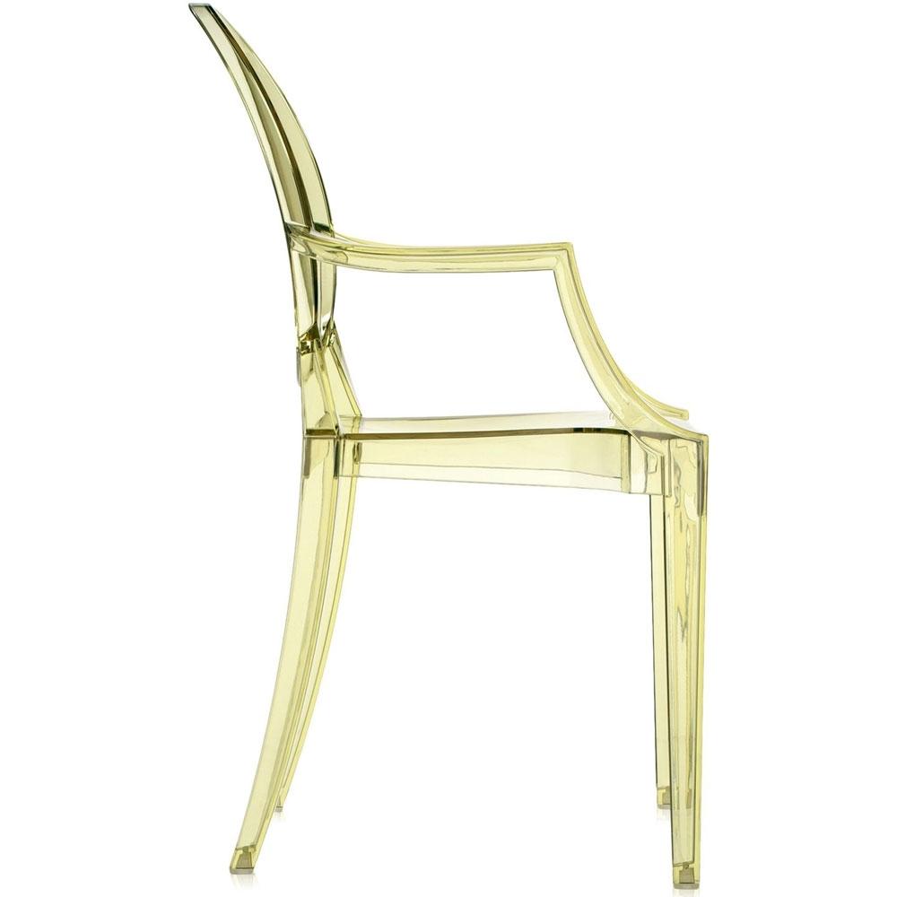 kartell louis ghost stuhl gelb nunido. Black Bedroom Furniture Sets. Home Design Ideas